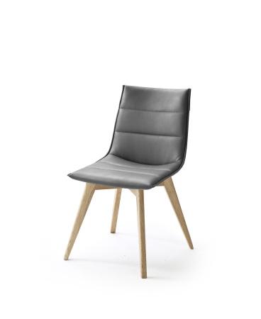 Jídelní židle VERONA_typ sedáku B 11 šedá