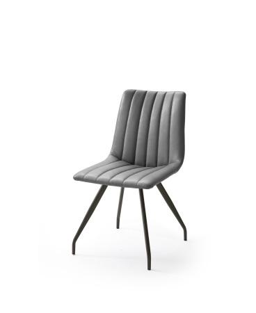 Jídelní židle VERONA_typ sedáku D 6 šedá