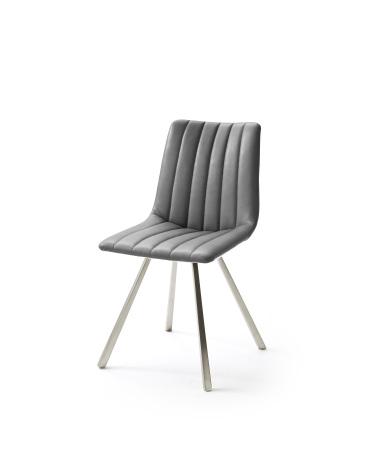 Jídelní židle VERONA_typ sedáku D 7 šedá