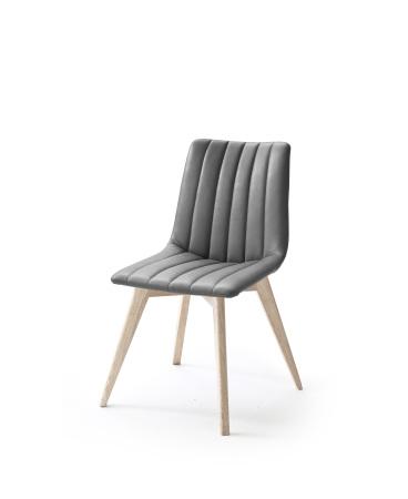 Jídelní židle VERONA_typ sedáku D 9 šedá