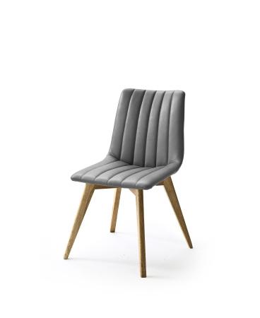 Jídelní židle VERONA_typ sedáku D 10 šedá