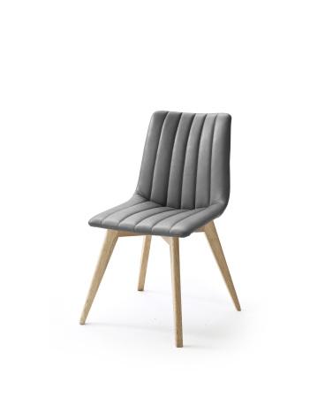 Jídelní židle VERONA_typ sedáku D 11 šedá