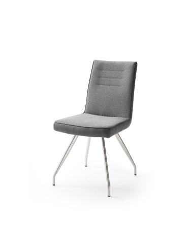 Jídelní židle VERONA_typ sedáku E 5 šedá