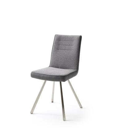 Jídelní židle VERONA_typ sedáku E 7 šedá