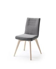 Jídelní židle VERONA_typ sedáku E 9 šedá