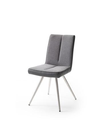 Jídelní židle VERONA_typ sedáku F 3 šedá