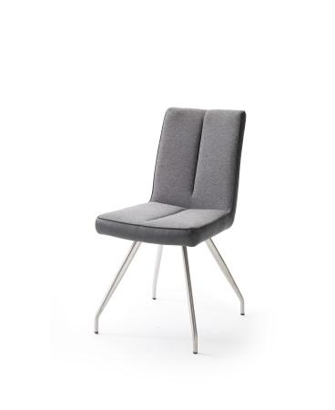 Jídelní židle VERONA_typ sedáku F 5 šedá