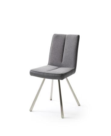 Jídelní židle VERONA_typ sedáku F 7 šedá