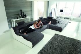 Moderní velká sedací souprava, model Elements, Torrimex